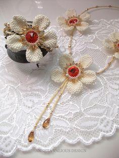 Flowers to Tokyo - Anneta Valious design Tokyo, Flora, Brooch, Beads, Jewelry, Design, Jewerly, Beading, Jewlery