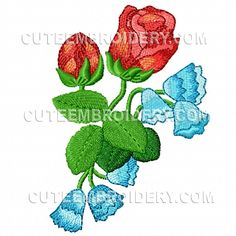 We post free embroidery designs every day. All types of free machine embroidery designs available - animal, holiday, floral, alphabets, and more! Flower Embroidery Designs, Cute Embroidery, Embroidery Patterns, Sewing Patterns, Applique Designs Free, Free Machine Embroidery Designs, Quilling Patterns, Free Design, Needlework