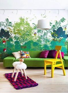 8x kleurrijke interieurs | inspiratie - Makeover.nl