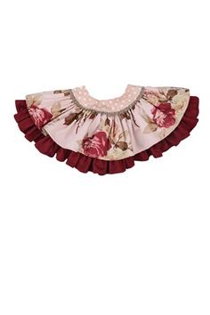 Persnickety Pretty in Pink Ruffle Floral Lily Skirt