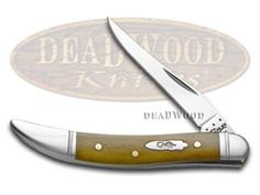 CASE XX Smooth Antique Bone Toothpick Stainless Pocket Knife Knives
