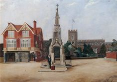 Discover artworks, explore venues and meet artists. Art UK is the online home for every public collection in the UK. Enfield England, Enfield Middlesex, Enfield Town, Georgian Buildings, Grand House, Greater London, Art Uk, Family History