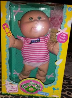 CABBAGE PATCH KIDS  NEWBORNS  JUST ARRIVED GIRL BABY FRESH SCENT -NIB Skye Paige #Dolls