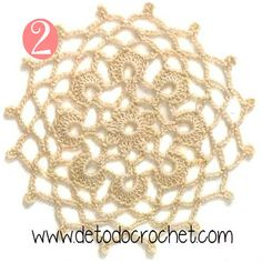 12 Patrones de Motivos Crochet / Descarga gratis Crochet Stitches Patterns, Thread Crochet, Crochet Granny, Crochet Motif, Crochet Doilies, Stitch Patterns, Baby Headbands, Dream Catcher, Collars