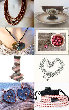 Chocolate Heart by Diana on Etsy--Pinned with TreasuryPin.com