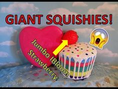 GIANT SQUISHIES & Giveaway!  OPEN!!  Closing June 30th