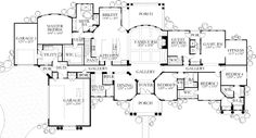 #floorplan #twostory House Plan 4655-07 - The Feria