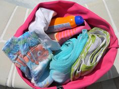 I can feel the rays! We're ready to start summertime fun! #poolbagpeek