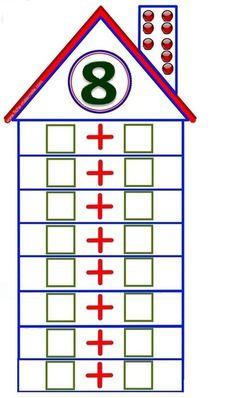 Стена Math Literacy, Preschool Math, Kindergarten Math, Teaching Math, Kids Math Worksheets, Math Resources, Math Activities, Math Addition, First Grade Math