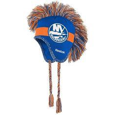 Reebok, Youth  New York Islanders Mohawk Knit Cap, Blue (Navy)