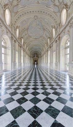 The Palace of Venaria, near Turin, Piedmont. Italy