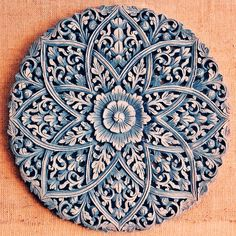 Wooden carved mandala | Flickr - Photo Sharing!