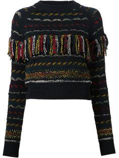 Chloé Suéter com franjas