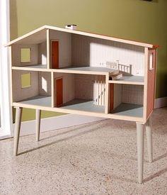 Rhan Vintage. Mid Century Modern Blog.: (Mid Century) Modern Doll Houses