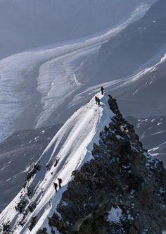 Summit Matterhorn / Monte Servino - Valais Switzerland / Valle d& Italy . Zermatt, Mountain Climbing, Rock Climbing, Arthus Bertrand, Aosta Valley, Mountaineering, Trekking, Nature Photos, Mountains