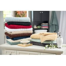 100% Egyptian Cotton 6 Piece Towel Set   $ 21.59 + shipping