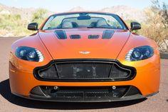2015 Aston Martin V12 Vantage S Roadster front