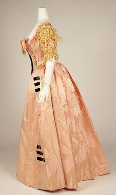 Ball gown Designer: Jacques Doucet  Date: 1897 Culture: French Medium: silk Accession Number: 49.3.26a, b