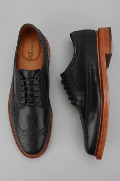 BROGUE... I really need this style shoe. Black natural wood bottom. They will solve lots of problems in my life lol