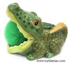 Alligator Scrubbie Holder