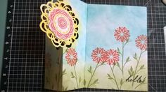 Scrap & Stamp Creations: 2/17 Ustream Class Cards and Video - card open