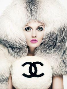 Photographer Yulia Gorbachenko Stylist  Newheart Ohanian Makeup Artist  Roshar for MAKE UP FOR EVER Chanel 5e89c1426d