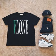 WEBSTA @ ldn2hk - Thuggin. #outfitgrid @outfitgrid @dennistodisco // Tee: #vlone…