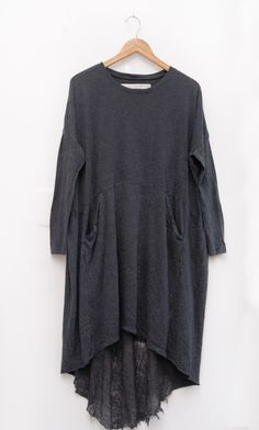 Peper & Parlor - Raquel Allegra - Oversize Dress. The sleeves look interesting- as if elongated in the medieval style
