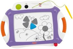 Fisher Price Doodle Pro Classic w/2 Stampers (Purple & White)