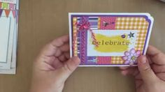 Spellbinders Celebrations Project Idea