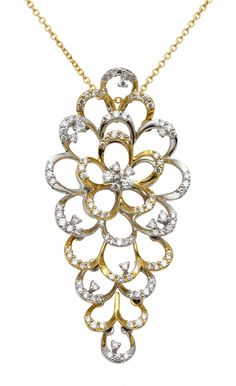 'Bloom' collection: why and yellow gold, diamonds