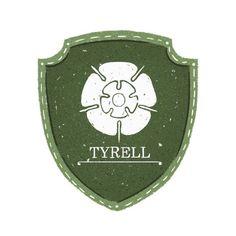 House Tyrell Sigil - Maria Suarez Inclan