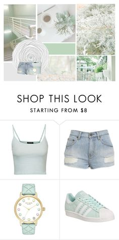 """We're throwing stones though we live in glass houses// All Time Low"" by antisocial-vagabond ❤ liked on Polyvore featuring Topshop, Kate Spade and adidas"