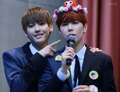 SF9 Inseong and Jaeyoon