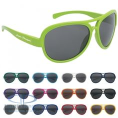 Custom sunglasses are great for wedding parties, business outings, promotional events, and educational events. Deluxe bulk sunglasses are fully customizable. Cool Sunglasses, Sunglasses Online, Sunglasses Women, Urban Gear, Trade Show Giveaways, Summer Swag, Promotional Events, San, Summer Time