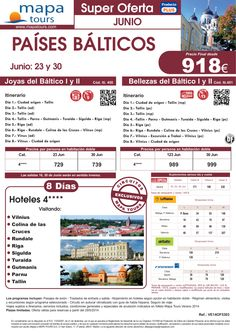 OF Países Bálticos salidas Junio **Precio Final desde 918** ultimo minuto - http://zocotours.com/of-paises-balticos-salidas-junio-precio-final-desde-918-ultimo-minuto/