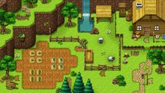 Farm and Nature tiles by PinkFireFly.deviantart.com on @DeviantArt