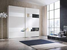 Garderobekast met twee schuifdeuren en spiegels  - Kasten- Garderobekasten - Lundia