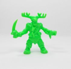 Monster In My Pocket - Series 2 - 59 Herne the Hunter - Neon Lime - Mini Figure