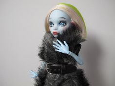 Monster High OOAK repainted doll abbey by EveryDollsDream on Etsy