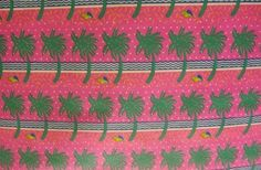 """Vintage Department Store Palm Trees Gag Gift Fun Paper 30"""" Wide x 6 Yards   eBay"""