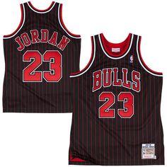 c97447a8721a Click to order - Michael Jordan Jersey Black with Red pinstripes Michael  Jordan Jersey