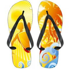 Check out this Surf Side Palm Kids Flip-Flops only@HotBuckles!