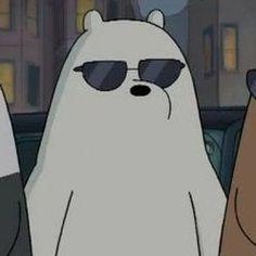 Cartoon Wallpaper Iphone, Bear Wallpaper, Cute Cartoon Wallpapers, Disney Wallpaper, Ice Bear We Bare Bears, We Bear, We Bare Bears Wallpapers, Funny Profile Pictures, Cartoon Icons
