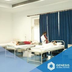 At Genesis, we give special attention to our students' medical needs. Our tie-up with the Max Hospital ensures provisions for emergencies.   In order to cater to children's day to day medical needs, We have a doctor available 24/7 and a nurse resident on campus.