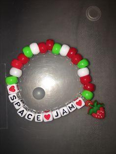 Items similar to Music Is My Drug Kandi Bracelet on Etsy Rave Bracelets, Pony Bead Bracelets, Candy Bracelet, Friendship Bracelets With Beads, Bracelet Crafts, Pony Beads, Homemade Jewelry, Diy Jewelry, Beaded Jewelry