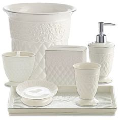 goes with everything kassatex florentine bathroom accessories - Kassatex