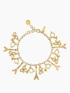 parisian lights charm bracelet - kate spade new york