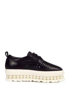 Beading Design Platform Shoes For Women #womensfashion #pinterestfashion #buy #fun#fashion