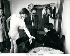 Oct. 10, 1964 - Together again in Vienna - Fonteyn and Nureyev the World's Greatest double act: Dame Margot - Stock Image